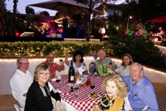 Party at Tony's with live music and catered dinner